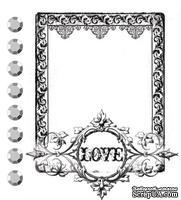 Акриловый штамп от компании Prima - Love