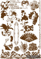 Флоковые  натирки от компании Prima - Moulin Rouge - ScrapUA.com