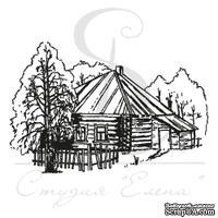 Штамп от Питерского Скрапклуба - Деревянный Дом