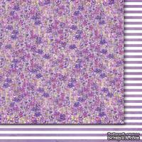 Двусторонний лист бумаги от Galeria Papieru  - Purpurowy deszcz  -  Purple rain - 03