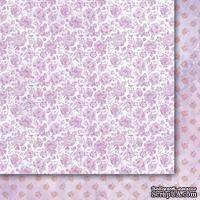 Двусторонний лист бумаги от Galeria Papieru  - Purpurowy deszcz  -  Purple rain - 04 - ScrapUA.com