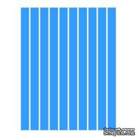 Набор полосок бумаги для квиллинга, 1 цвет (синий интенсив), 5х295мм, 80 г/м2, 200 шт.
