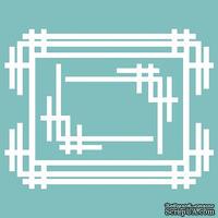 Чипборд от Вензелик - Набор рамочка + уголки, размер: 69*90 мм