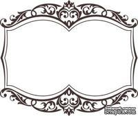 Акриловый штамп Frame Рамка, размер 5,2 * 4,4 см