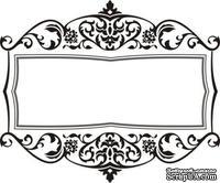 Акриловый штамп Frame Рамка, размер 6,1 * 5,1 см
