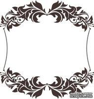 Акриловый штамп Frame Рамка, размер 5,4 * 5,7 см