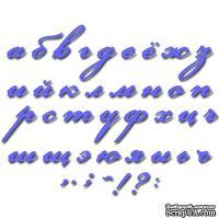 Лезвие Crafty Ann - Small Italic Alphabet Set