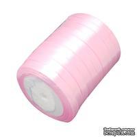 Ленточка атласная  Pink, 10мм, цвет розовый, 90 см