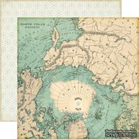 Лист двусторонней бумаги от Echo Park - North Pole Paper