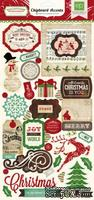 Чипборд от Echo Park - Reflections Christmas Chipboard