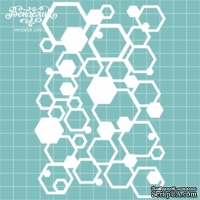 Чипборд от Вензелик - Фон 040, размер: 9,8 x 14,7 см
