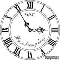 Акриловый штамп Watches Часы, размер 5 * 5 см