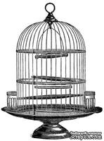 Акриловый штамп Bird Cage Клетка для птиц, размер 5 * 6,7 см
