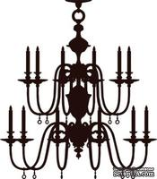 Акриловый штамп Chandelier Люстра, размер 4,5 * 5 см