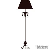 Акриловый штамп Floor lamp Лампа, размер 2,2 * 6,7 см