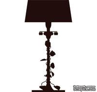 Акриловый штамп Floor lamp Лампа, размер 3,2 * 6,2 см