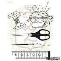 Набор акриловых штампов Lesia Zgharda SV065 Швейное дело