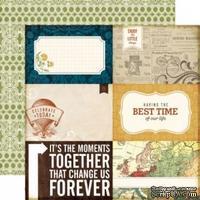 Лист двусторонней бумаги от Echo Park-Little Things - ScrapUA.com