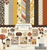 Набор бумаги и декора от Echo Park - Reflections Fall Collection Kit