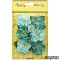 Набор цветов Petaloo - Botanica Ranunculus - Teal