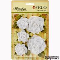 Набор цветов Petaloo - Botanica Garden Roses - White