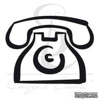 Штамп от Питерского Скрапклуба - Телефон