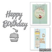 Ножи от Spellbinders - Happy Birthday