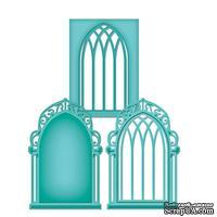 Лезвие от Spellbinders - Die D-Lites™ - Window Three, S2-026