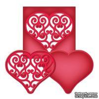 Ножи от Spellbinders - Swirl Heart