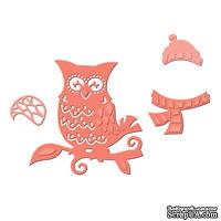 Ножи от Spellbinders -WINTER OWL, 4 шт.