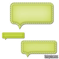 Ножи от Spellbinders - Conversation Bubble 1