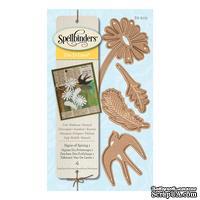 Нож для вырубки от Spellbinders - Signs Of Spring 1