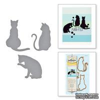 Ножи от Spellbinders - Kitty Cats - Кошки