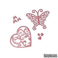 Ножи от Spellbinders - Flutter Love