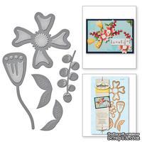Нож для вырубки от Spellbinders - Stylized Flower