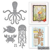 Ножи от Spellbinders - Sea Animals - Морские жители