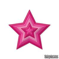 Набор лезвий Spellbinders - Stars Nestabilities - Звезды, 5 шт