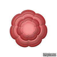 Лезвия от Spellbinders - Blossom, 6 шт