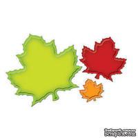 Лезвия от Spellbinders - Nested Maple Leaves, 3 шт