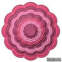 Лезвия от Spellbinders - Big Scalloped Circles LG, 7 шт