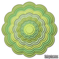 Лезвия от Spellbinders - Big Scalloped Circles SM, 7 шт