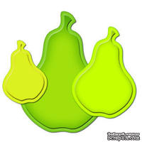 Лезвия от Spellbinders - Nested Pear - Груша, 3 шт
