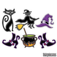 Набор лезвий от Spellbinders - Witches Brew