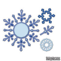 Набор лезвий от Spellbinders - Snowflake Pendants