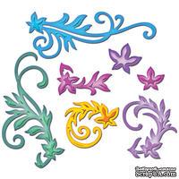 Набор лезвий Spellbinders  - Floral Flourishes