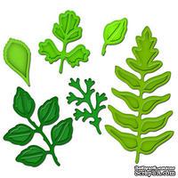 Лезвия от Spellbinders - Foliage - Листва, 6 шт