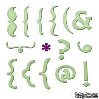 Набор лезвий от Spellbinders - Keyboard Icons - Символы клавиатуры