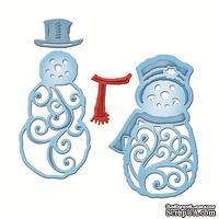 Ножи от Spellbinders - Mr. And Mrs. Snowman
