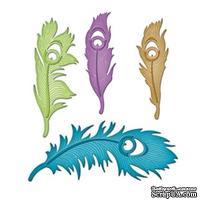 Ножи от Spellbinders - Peacock Feathers - Перья павлина