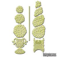 Ножи от Spellbinders – Topiary Treasures